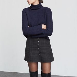 Reformation Marley Plaid Mini Skirt
